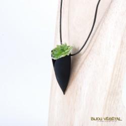 Collier Tulipe prune plante